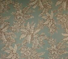 "MAGNOLIA HOME BELLINGRATH SPA BLUE FLORAL TOILE FURNITURE FABRIC BY YARD 54""W"