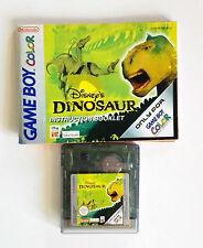 Dinosaur Nintendo GameBoy Color + Notice