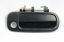 Front RH Passenger Exterior Door Handle Smooth Black for 92-96 Toyota Camry