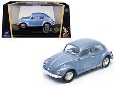 1972 VOLKSWAGEN BEETLE METALLIC BLUE 1/43 DIECAST CAR BY ROAD SIGNATURE 43219