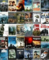 Military War DVD R2 Film Movie Collection Multi Buy Discount Classics WWI WWII