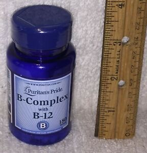 B-Complex with B-12, from Puritans Pride.  180 tablets