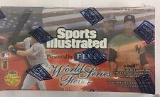 1998 Fleer Sports Illustrated World Series Factory Sealed Baseball Hobby Box