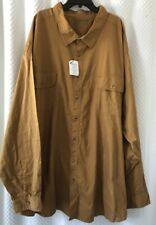 New Boulder Creek Trading Co Mens 7XL Tall Shirt 7X-large Twill Cotton