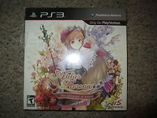 Atelier Rorona: The Alchemist of Arland Premium Edition (Sony PlayStation 3) NEW