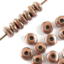 TierraCast Pewter Beads-COPPER NUGGET SPACER 5mm (25)