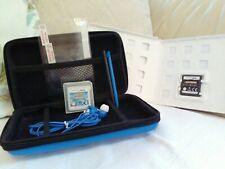 Nintendo DS Games & Accessory Bundle Case Stylus Screen Protectors Earphones