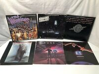 "33 1/3 RPM 12"" compilation [Soundtrack] Records (lot Of 6) See Description."