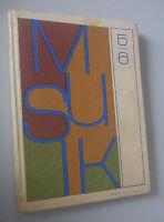 DDR Lehrbuch ~ Musik für 5./6. Klasse ~ Verlag Volk und Wissen Berlin 1981
