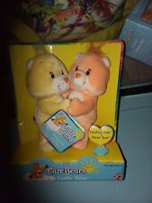 Care Bears Cuddle Pairs -Funshine Bear and Friend Bear Plush Toys - NEW in Box
