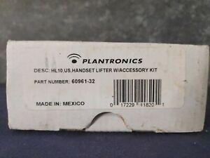 Plantronics HL10 60961-32 Handset Lifter Black - New in Box