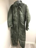 CWU - 1/P FLYING COVERALL VIETNAM WAR FLIGHT SUIT VINTAGE NSN 8415-576-3406 MR