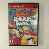 The Simpsons Road Rage [Greatest Hits] (Sony PlayStation 2 PS2, 2002)