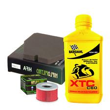 Kit tagliando Bardahl XTC C60 10W50 filtro olio aria Honda CB 250