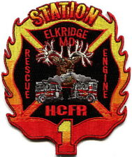Maryland -Howard County Fire Rescue Elkridge station 1 current style patch