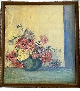 Listed American Amanda Jacobson Impressionist Painting Sandzen Stud. California