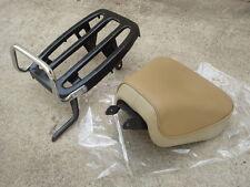 HONDA C92 CA92 C95 CA95 CS92 CS95 SOLO SEAT + Rack  COMPLETE SET // NEW