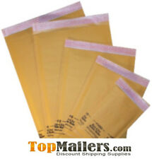 "100 #000 - 4"" x 8""  Kraft BUBBLE MAILERS   ENVELOPES"