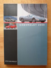CHEVROLET de luxe gamme 2000 pack de presse salon de Genève-Corvette C5-R CAMARO