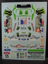 DECALS 1/32 FORD FOCUS WRC08 - #55 - RALLYE DE MEXICO 2010 - COLORADO  32149