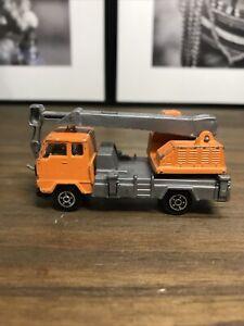 Norev Camion Truck Volvo F89 Crane Mini Jet Car Métal 1/64 VINTAGE Collection
