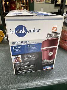 NEW InSinkErator Quiet Series Evolution Select Garbage Disposer 5/8 HP Disposal