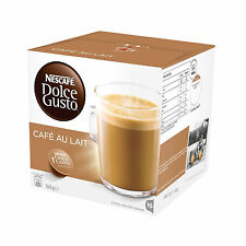 NESCAFE Dolce Gusto Cafe Au Lait Coffee Pods 16 Capsules