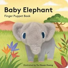Baby Elephant: Finger Puppet Book (Little Finger Puppet Board Books),