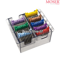 Stainless Steel hair clipper attachment combs set Moser Wahl Ermila 1233-7050