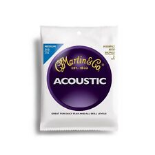 3 SETS Pack MARTIN 13 - 56 ACOUSTIC GUITAR STRINGS MEDIUM m150pk3
