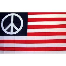 Us Peace Historical Flag Banner Sign 3' x 5' Foot Polyester Grommets