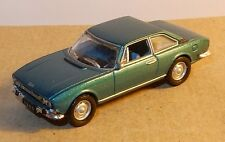 UNIVERSAL HOBBIES UH  idem NOREV METAL HO 1/87 PEUGEOT 504 COUPE 1969 TURQUOISE