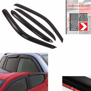 AAG 4pcs Window Visor Sun Rain Guard Fit 2007-2013 Chevrolet Avalanche Suburban