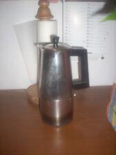 caffettiera marca ALFA in acciaio 6 tazze