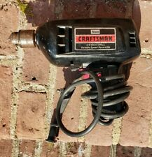 """Vtg Sears Craftsman 3/8"""" Reversible Variable Speed Drill Model 315.10041 w/Chuck"""