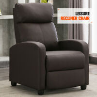 Manual Leisure Recliner Sofa Chair Lounge Couch Accent Armchair Living Room