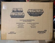 Super 7 MOTU Club Grayskull and Classics Assortment Brand New Sealed Case of 8