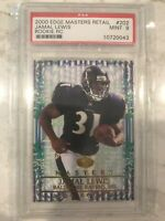 2000 Edge Masters Retail Jamal Lewis #202 Rookie Card RC! PSA 9 MINT Ravens