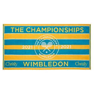 Wimbledon 2021 Championship Official Christy Towel