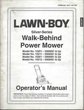 LAWN-BOY PUSH MOWER Operator's Manual