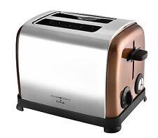 Kalorik Kitchen Originals Classic 2-Slice Stainless Steel Toaster Copper NEW