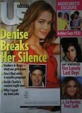 DENISE RICHARDS August 2011 US Magazine AMY WINEHOUSE / JENNIFER LOPEZ