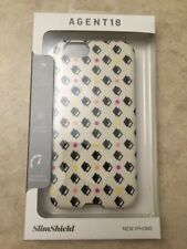 Agent 18 SlimShield Dots Over Fabric Cover Case for Apple iPhone 6 6s Fabric NEW