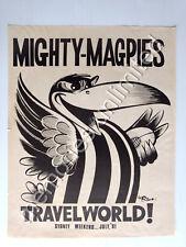 Collingwood Magpies 1980s Afl Amp Australian Rules Football