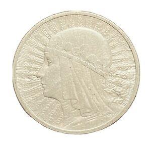 2 ZLOTE 1933 POLAND SILVER COIN