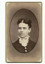 Vintage CDV - Unidentified Woman - Photo by Unknown Photographer (3585)