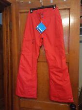 Columbia Bugaboo Omni-tech Women Ski/Snowboard Pants Small Red New w/ Tags