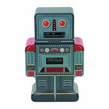 Tin Robot Counting Money Box