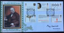 Benham 10.8.2004 Royal Society Of Arts FDC Rowland Hill, Signed BARONESS WARNOCK