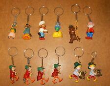 RARE 12 anciens porte clés figurines publicitaires - soupe ROYCO - 60/70's